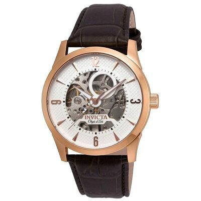 インビクタInvicta男性用腕時計メンズウォッチホワイト22637送料無料
