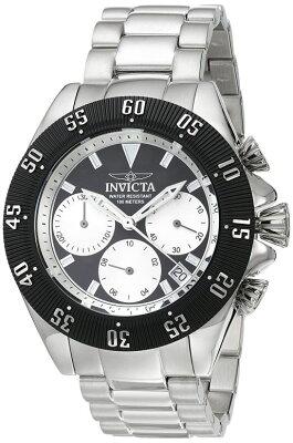 インビクタInvicta男性用腕時計メンズウォッチシルバー22396送料無料