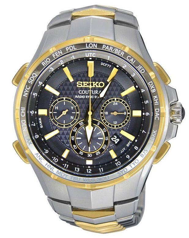 セイコー SEIKO 男性用 腕時計 メンズ ウォッチ クロノグラフ ブラック SSG010  【並行輸入品】