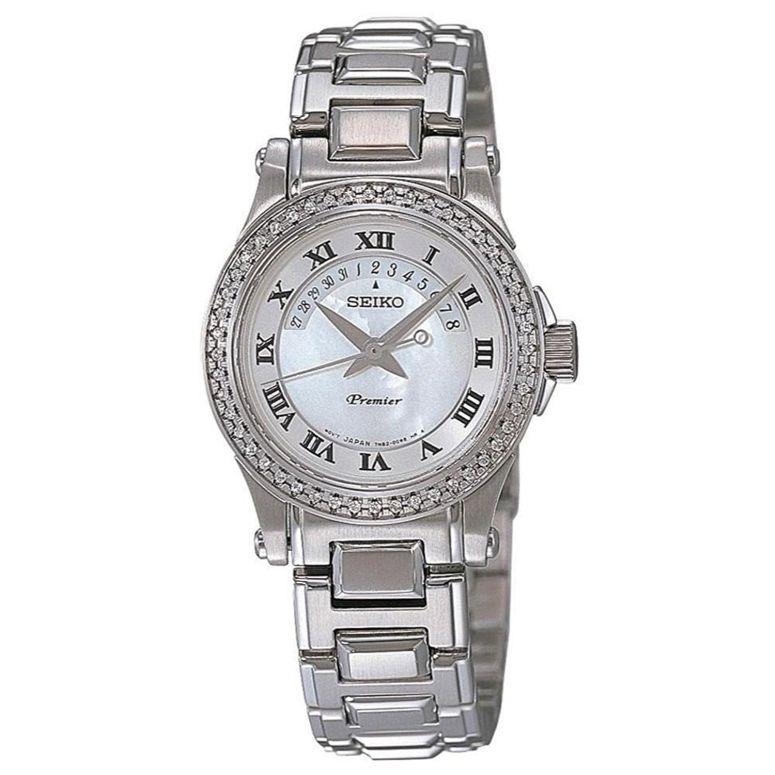 セイコー SEIKO 女性用 腕時計 レディース ウォッチ ホワイト SXD773  【並行輸入品】