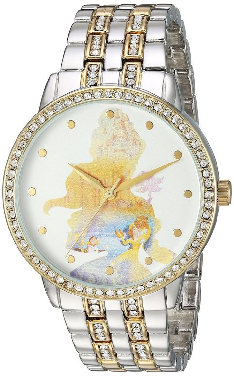 ディズニー Disney 女性用 腕時計 レディース ウォッチ ホワイト WDS000069  【並行輸入品】
