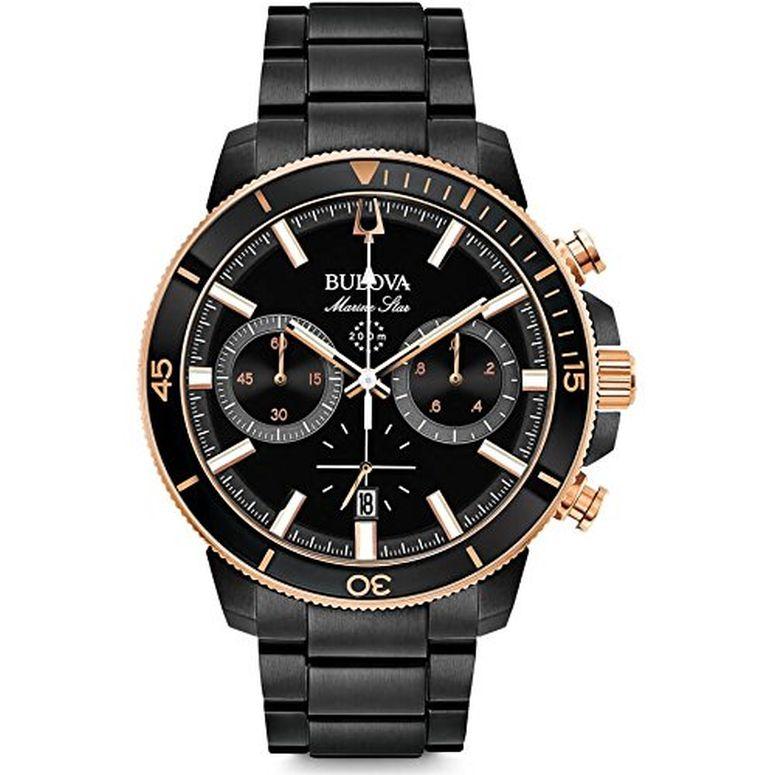 ブローバ Bulova 男性用 腕時計 メンズ ウォッチ ブラック 98B302-000  【並行輸入品】
