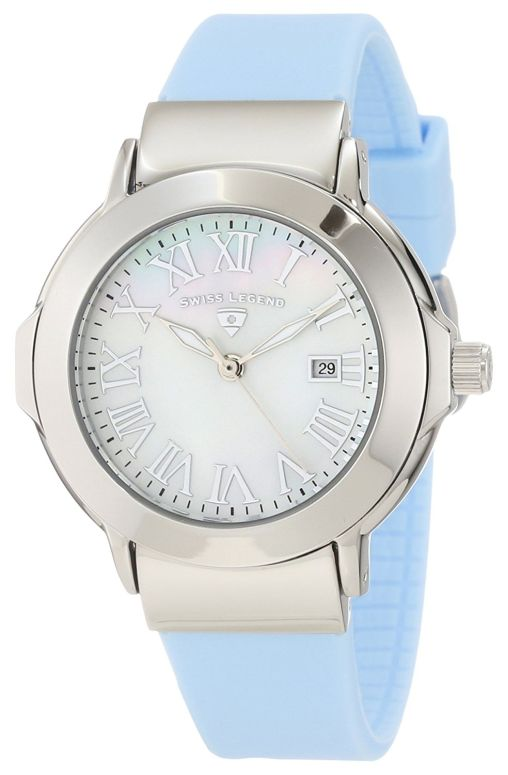 スイスレジェンド Swiss Legend 女性用 腕時計 レディース ウォッチ ホワイト SL-20032-02-BBL  【並行輸入品】