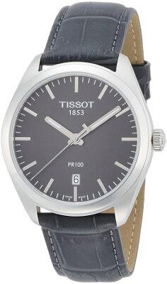 ティソTissot男性用腕時計メンズウォッチグレーT1014101644100送料無料