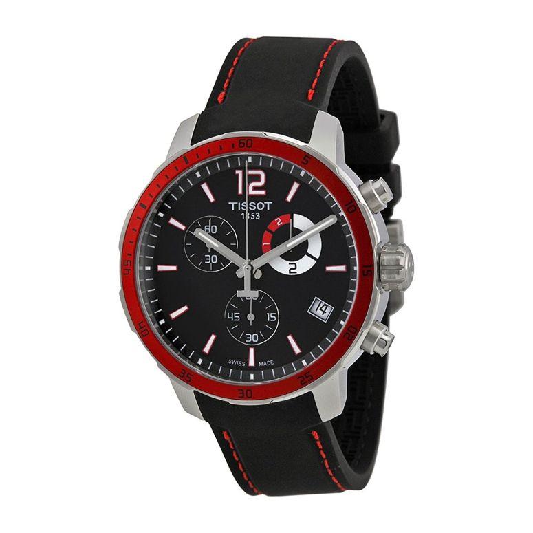 ティソ Tissot 男性用 腕時計 メンズ ウォッチ クロノグラフ ブラック T0954491705701  【並行輸入品】