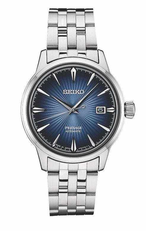 セイコー SEIKO 男性用 腕時計 メンズ ウォッチ ブルー SRPB41  【並行輸入品】