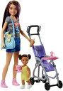 Barbie バービー Skipper Babysitters Inc. doll 人形 Strol ...