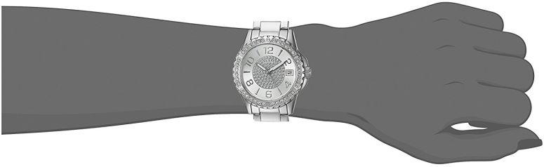 ゲス GUESS 女性用 腕時計 レディース ウォッチ シルバー U0779L1  【並行輸入品】