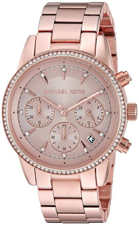 マイケルコース Michael Kors 女性用 腕時計 レディース ウォッチ ローズゴールド MK6357