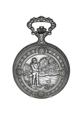 チャールズヒューバート Charles-Hubert, Paris 男女兼用 懐中時計 ユニセックス ポケット ウォッチ ホワイト DWA030 送料無料