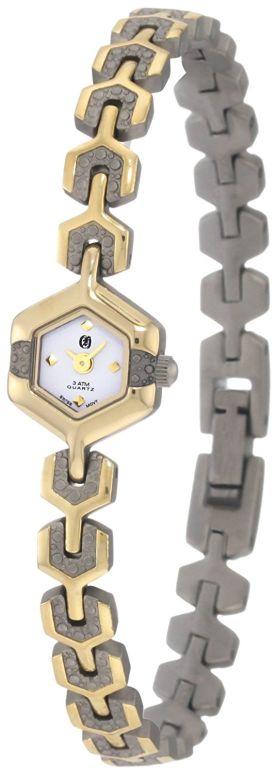 チャールズヒューバート Charles-Hubert, Paris 女性用 腕時計 レディース ウォッチ ホワイト 6739-T  【並行輸入品】
