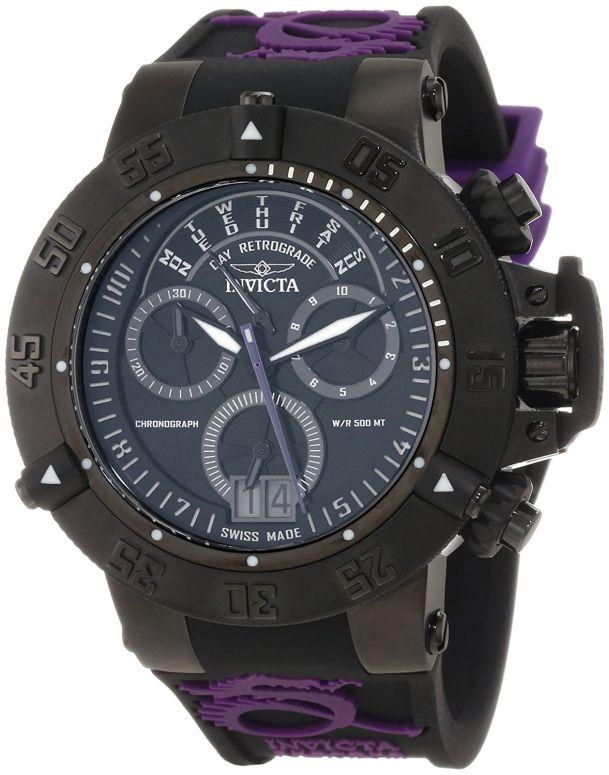 インビクタ Invicta インヴィクタ 女性用 腕時計 レディース ウォッチ クロノグラフ ブラック 10190