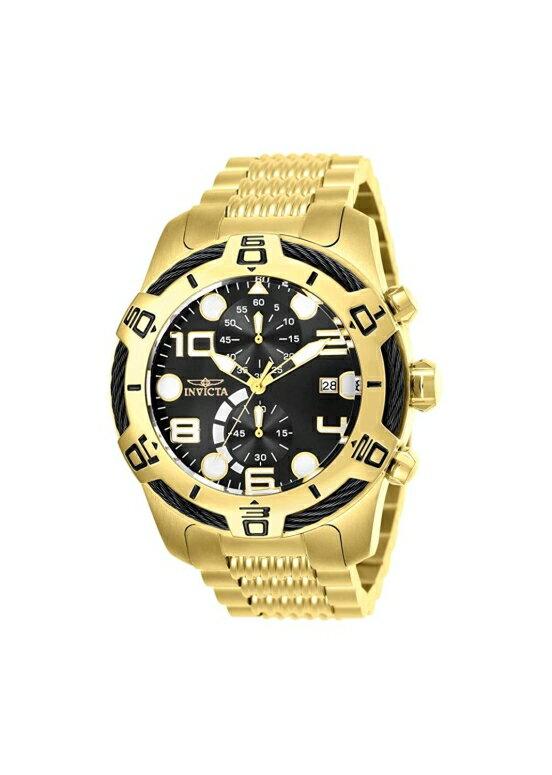 インビクタ Invicta インヴィクタ 男性用 腕時計 メンズ ウォッチ クロノグラフ ブラック 25550  【並行輸入品】
