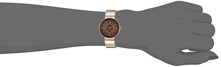 アンクライン Anne Klein 女性用 腕時計 レディース ウォッチ ローズゴールド AK/2946RMRG 女性らしいデザイン かわいい  【並行輸入品】