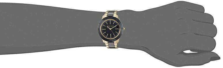 アンクライン Anne Klein 女性用 腕時計 レディース ウォッチ ブラック AK/3160BKGB 女性らしいデザイン かわいい  【並行輸入品】