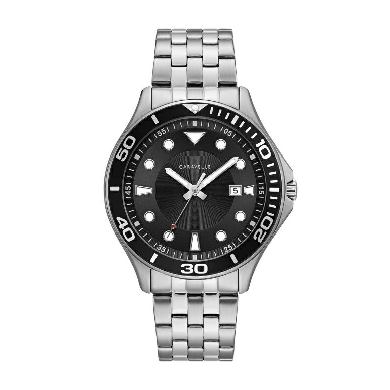 ブローバ Bulova 男性用 腕時計 メンズ ウォッチ ブラック 43B162  【並行輸入品】