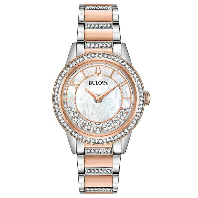 ブローバ Bulova 女性用 腕時計 レディース ウォッチ パール 98L246  【並行輸入品】