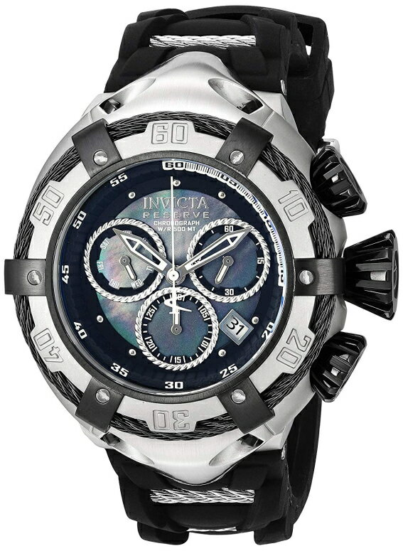 インビクタ Invicta インヴィクタ 男性用 腕時計 メンズ ウォッチ ブラック パール 21351  【並行輸入品】