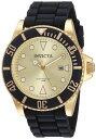 インビクタ Invicta インヴィクタ 男性用 腕時計 メンズ ウォッチ プロダイバーコレクション Pro Diver Collection ゴールド 90302 送料無料 【並行輸入品】