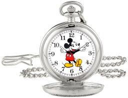 ディズニー Disney 男女兼用 懐中時計 ユニセックス ポケット ウォッチ ホワイト 56403-3467 送料無料 【並行輸入品】