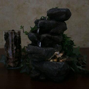 卓上 噴水 滝のオブジェ テーブルトップファウンテン インテリア噴水 Sunnydaze Rocky Falls Indoor Tabletop Water Fountain with LED Light, 10-Inch TallSunnydaze Rocky Falls Indoor Tabletop Water Fountain with LED Light, 10-Inch Tall