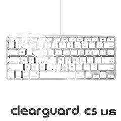 驚きの薄さを実現!moshi clearguard [CS] (US) ※テンキーなし USキーボード専用 カバー 【楽...