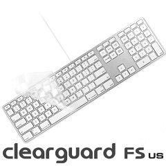 驚きの薄さを実現!moshi clearguard [FS] (US) ※テンキー有りUSキーボード専用 カバー 【楽...