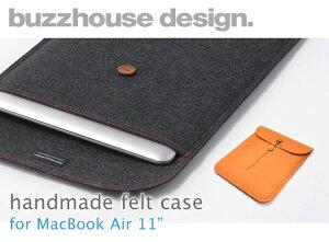 北欧のデザイン雑貨のようなMacBook Air 11インチ専用 フェルトケースbuzzhouse design. [バズ...