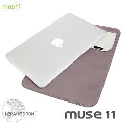 """ジッパーもベリクロも使用しないMacBook11""""専用ケースmoshi muse11 [モシ ミューズ] for MacBo..."""