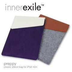 iPad mini用ウール製フェルト【4月17発売予定】 innerexile Preppy for iPad mini [インナーエ...