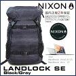 【ポイント10倍 8/21 09:59まで】 ニクソン ランドロック SE バックパック ブラック/グレー 通学 メンズ レディース リュック デイパック NIXON Landlock SE Black/Gray C2394