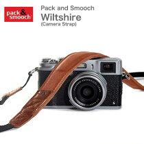 PackandSmoochWiltshireパックアンドスムーチウィルトシャードイツ製高級レザー製カメラショルダーストラップハンドメイド手作りウールフェルト