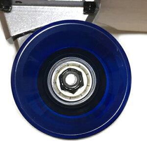 カービングトラック装着セミロング31.5インチ(80cm)クルーザースケートボードABEC7ベアリング装着硬さ78Aウィールタイプ