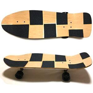 30.5インチ(77.5cm)オールドスクールデッキスケートボードスケボークルーザータイプRibBonesRails装着仕様