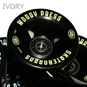 WOODYPRESSウッディプレスベアリング装着65mmウィールプレスマシン調整済み1台分(4個セット)