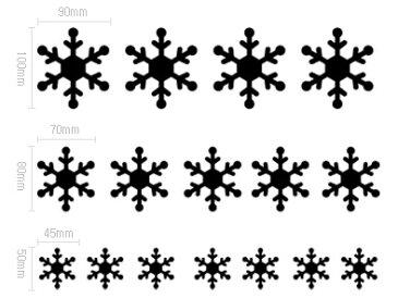 ウォールステッカー クリスマス ウィンドウステッカー ウォールステッカー 雪 【クリスマス 雪の結晶 B】 転写式 壁紙 キッチン ウォールステッカー クリスマスツリー  ウォールステッカー北欧 ウォールステッカー カフェ風 クリスマス ゴールド文字