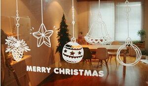 クリスマスウォールシール wall sticker ウオールシール インテリア シール 壁シール 壁ステ...