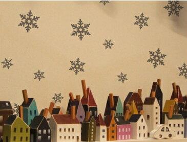 クリスマス ウォールステッカー ウィンドウステッカー 【雪の結晶 C】 ウォールステッカー 冬 ウォールステッカー スノー ウォールステッカー クリスマス ウォールステッカー クリスマスツリー 窓 ガラス クリスマス ゴールド文字