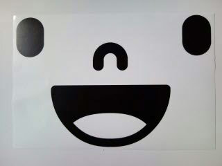ウォールステッカー おしゃれ スマイル smile メール便送料無料 シール 壁紙 キッチン トイレ 木 北欧 モノトーン 転写式 4月のオススメ 春 子供 キッズ