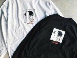 限定アイテムcapriceカプリース90%virginL/STEE長袖ロンTブラック黒ホワイト白2カラー展開イラストTシャツストリート送料込み価格送料無料