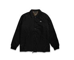 ANTIHEROアンタイヒーローコーチジャケットブラック黒HEROJacket19096胸ロゴシンプルストリートメンズレディース送料込み価格送料無料