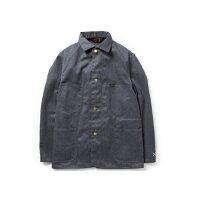 BLUCOブルコカバーオールジャケットブラック黒グレー灰色COVERALLJACKETOL-151-020バイクストリートシンプル送料無料送料込み