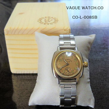 VAGUE WATCH Co ヴァーグウォッチ COUSSIN EARLY STAINLESS BELT CO-L-008-SB クッサン レディース プレゼント 記念日などに