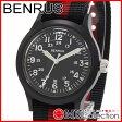 ベンラス 時計 メンズ 国内正規品 BENRUS 腕時計 おすすめ ナイロン BR763BLACK03