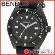 ベンラス 時計 メンズ 国内正規品 BENRUS 腕時計 おすすめ ナイロン TYPE1BLACK