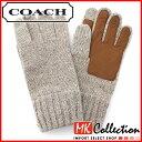 新品 COACH 手袋 オートミール 人気コーチ 手袋 ニット グローブ メンズ COACH F83757 OTM 【レ...