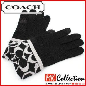 ポイント10倍キャンペーン スマホエントリー限定 コーチ 手袋 フリーサイズ COACH Glove F85216 CBS 【レビューを書いて送料無料♪】