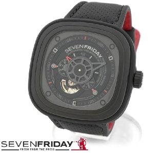 セブンフライデ-腕時計メンズ正規品SEVENFRIDAY時計自動巻SF-P3/01【レビューを書いて送料無料♪】