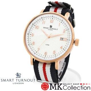 スマートターンアウト腕時計メンズレディース国内正規品SMARTTURNOUTホワイト時計STH3WH-YH/20【レビューを書いて送料無料♪】