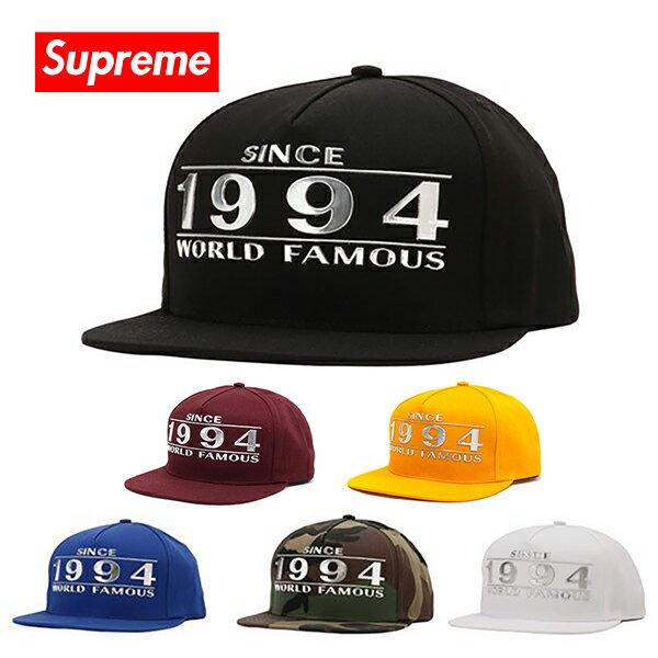 メンズ帽子, キャップ  Supreme WAY BACK 5-PANEL CAP SS16H46